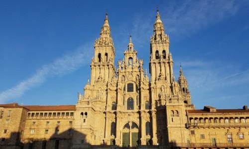 Zdjecie HISZPANIA / Galicja / Santiago de Compostela- katedra / Odrestaurowali pięknie