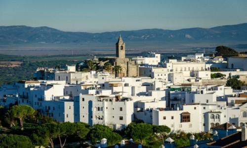 HISZPANIA / Andaluzja / Vejer de la Frontera / białe niezmrożone...