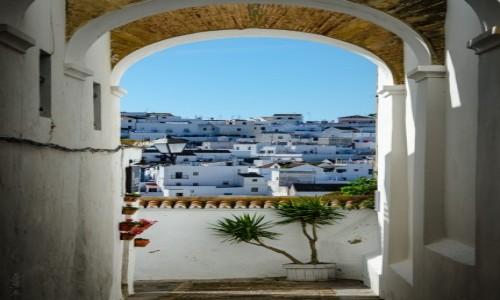 HISZPANIA / Andaluzja / Vejer de la Frontera / pocztówka z Andaluzji...