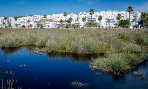 HISZPANIA / Andaluzja / Conil de la Frontera / wzdłuż plaży...