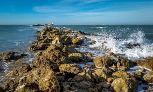 Zdjecie HISZPANIA / Andaluzja / Chiclana de la Frontera / morska twierdza...