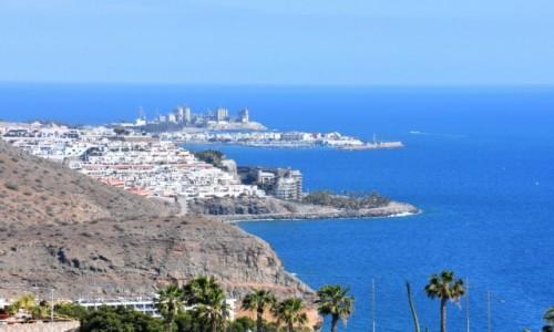 Zdjęcie HISZPANIA / Gran Canaria / Puerto Rico / Widok z klifu