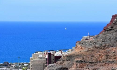 Zdjęcie HISZPANIA / Gran Canaria / Puerto Rico / Samotny żagiel