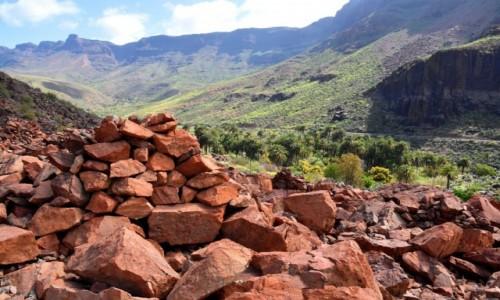Zdjęcie HISZPANIA / Gran Canaria / Wąwóz Barranco de Fataga / Necropolis de Arteara
