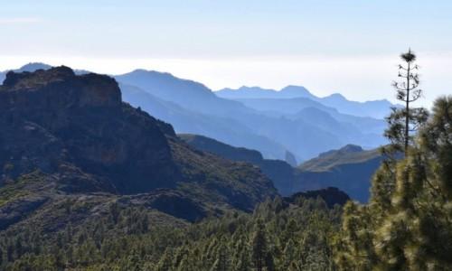 Zdjecie HISZPANIA / Gran Canaria / Parque Rural del Nublo / W drodze na Roque Nublo