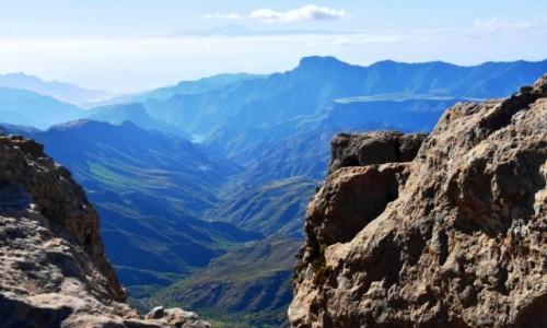 Zdjecie HISZPANIA / Gran Canaria / Roque Nublo / Widok z Roque Nublo