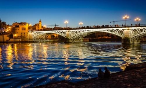 Zdjecie HISZPANIA / Andaluzja / Sevilla / most Triany...