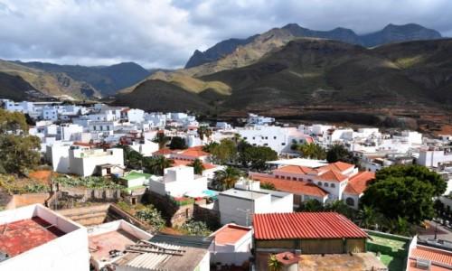 Zdjecie HISZPANIA / Gran Canaria / Agaete / Widok na Agaete