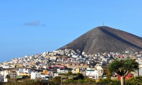 Zdjęcie HISZPANIA / Gran Canaria / Galdar / Miasto Galdar
