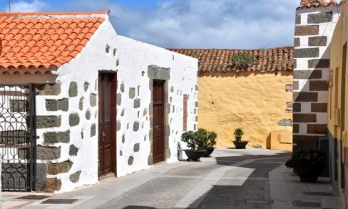 Zdjecie HISZPANIA / Gran Canaria / Aguimes / Stare miasto w Aguimes 2