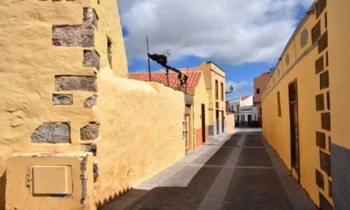 Zdjecie HISZPANIA / Gran Canaria / Aguimes / Stare miasto w Aguimes 3