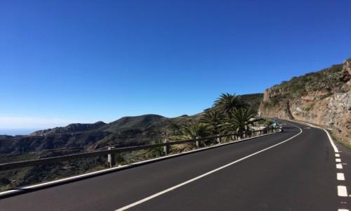 Zdjecie HISZPANIA / La Gomera  / La Gomera  / Drogi na wyspie La Gomera