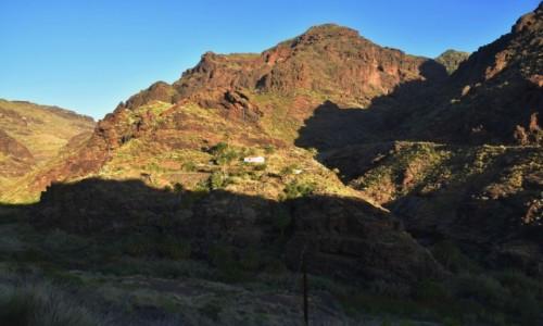 Zdjecie HISZPANIA / Gran Canaria / Gdzieś po drodze w Parque Rural del Nublo / Samotny dom