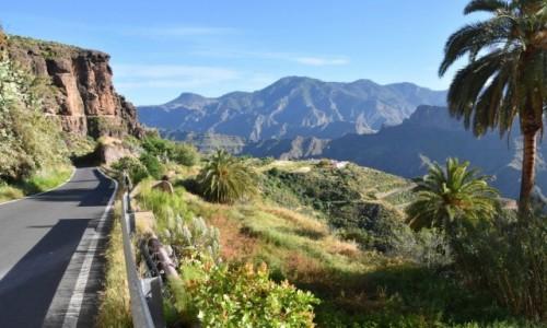 Zdjecie HISZPANIA / Gran Canaria / Gdzieś po drodze w Parque Rural del Nublo / Jadąc z Artenary do La Aldea de San Nicolas