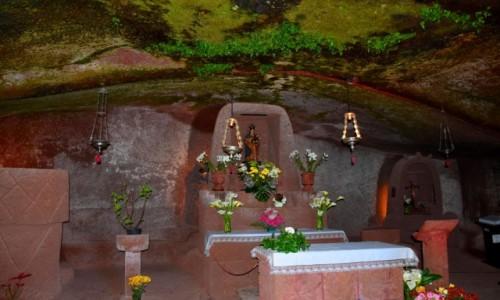 Zdjecie HISZPANIA / Gran Canaria / Artenara /  Ermita de la Virgen de la Cuevita