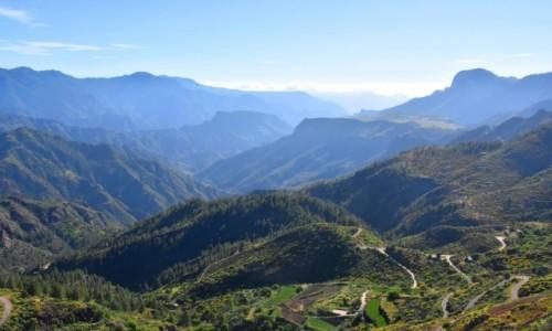 Zdjecie HISZPANIA / Gran Canaria / Artenara / Widok z miasteczka