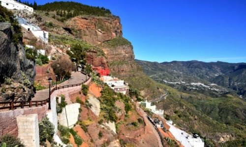 Zdjecie HISZPANIA / Gran Canaria / Artenara / Artenara, miasteczko na skałach