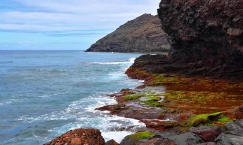 Zdjecie HISZPANIA / Gran Canaria / Artenara / Wybrzeże w La Aldea de San Nicolas