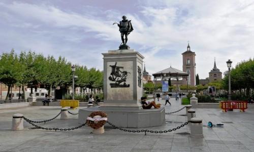 Zdjecie HISZPANIA / Madryt / Alcala de Henares / Plaza de Cervantes
