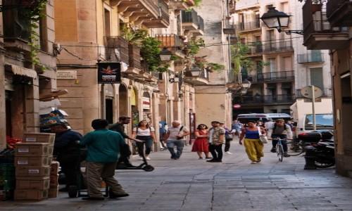 Zdjęcie HISZPANIA / Katalonia / Barcelona / Zakamarki Barcelony