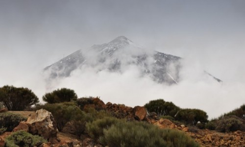 Zdjecie HISZPANIA / Teneryfa / góry / wulkan