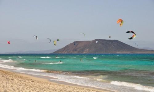 Zdjecie HISZPANIA / fuerteventura / plaża / pasja