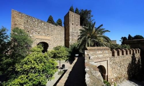 Zdjęcie HISZPANIA / Andaluzja / Malaga / Zamek Gibralfaro