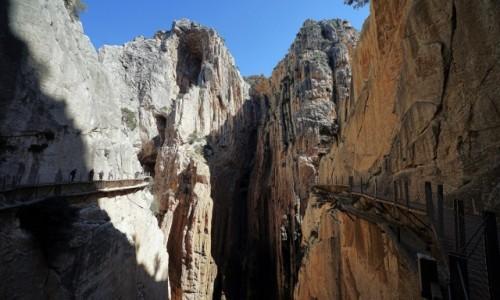 Zdjecie HISZPANIA / Malaga / Caminito del Rey / Wiszące ścieżki