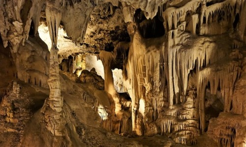 Zdjęcie HISZPANIA / Andaluzja / Nerja / Rzeźby natury wydobyte z mroku
