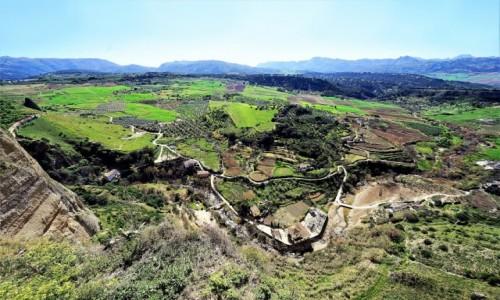 Zdjecie HISZPANIA / Andaluzja / Ronda / Patrząc z góry