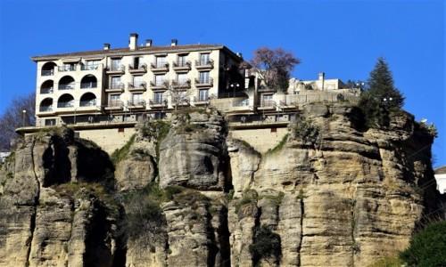 Zdjęcie HISZPANIA / Andaluzja / Ronda / Na skale