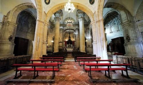 Zdjecie HISZPANIA / Andaluzja / Ronda / Wnętrze katedry