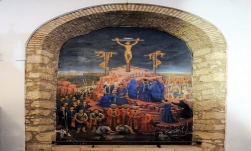 HISZPANIA / Andaluzja / Ronda, katedra / Trzy krzyże