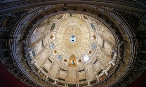 HISZPANIA / Andaluzja / Sewilla, katedra / Kaplica owalna