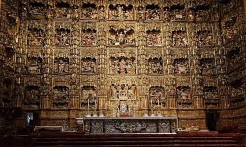 Zdjecie HISZPANIA / Andaluzja / Sewilla, Katedra / Ołtarz główny