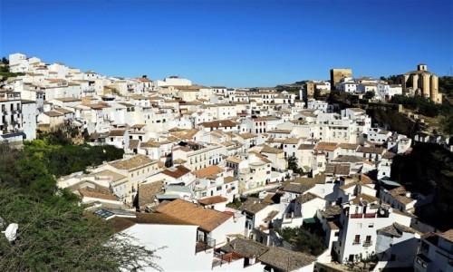 HISZPANIA / Andaluzja / Setenil de Las Bodegas / Pueblos blancos