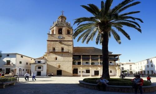 HISZPANIA / Andaluzja / Ronda / Kościół Santa Maria la Mayor, dawniej katedra
