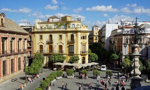 Zdjecie HISZPANIA / Andaluzja / Sewilla / W sąsiedztwie katedry