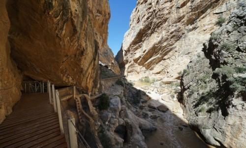 Zdjecie HISZPANIA / Andaluzja / Caminito del Rey / Na szlaku