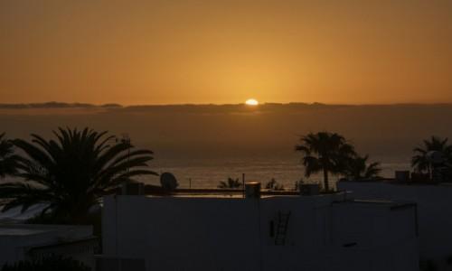 Zdjecie HISZPANIA / Wyspy Kanaryjskie - Gran Canaria / San Augustin / poranek w San Augustin