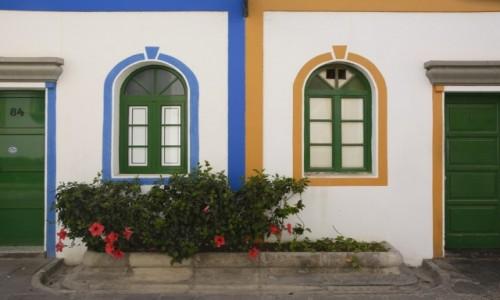 Zdjecie HISZPANIA / Wyspy Kanaryjskie - Gran Canaria / Puerto de Mogan / kolory Puerto de Mogan