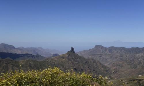 HISZPANIA / Wyspy Kanaryjskie - Gran Canaria / Degollada de Becerra / Roque Bentayga