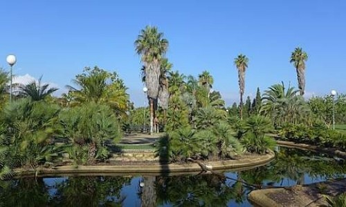 Zdjecie HISZPANIA / Huelva / Palos de la Frontera / Ogród botaniczny