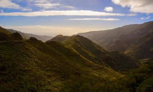 Zdjecie HISZPANIA / Wyspy Kanaryjskie - La Gomera / Hermigua / krajobrazy La Gomery