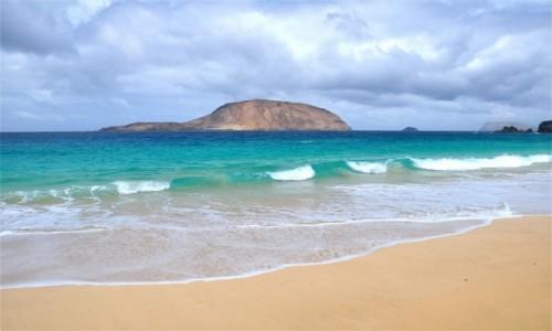 Zdjecie HISZPANIA / Wyspy Kanaryjskie / La Graciosa / Piękno La Graciosy (Playa De Las Conchas)