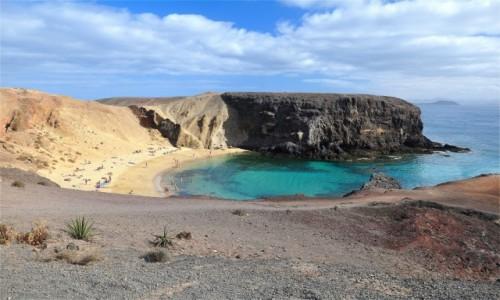 Zdjecie HISZPANIA / Wyspy Kanaryjskie / Lanzarote / Playa de Papagayo