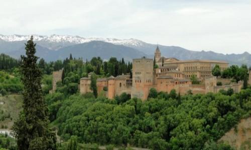 Zdjęcie HISZPANIA / Andaluzja / Granada / Rzut oka na Alhambrę.