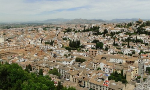 Zdjęcie HISZPANIA / Andaluzja / Granada / Rzut oka na Granadę.