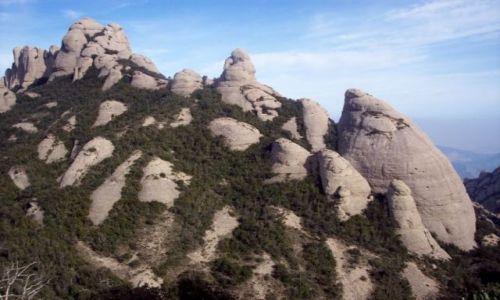 Zdjecie HISZPANIA / Katalonia / Montserrat / Masyw Montserra