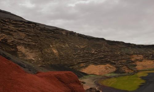 Zdjecie HISZPANIA / Wyspy Kanaryjskie - Lanzarote / El Golfo (Charco de los Clicos) / z wyprawy na Marsa